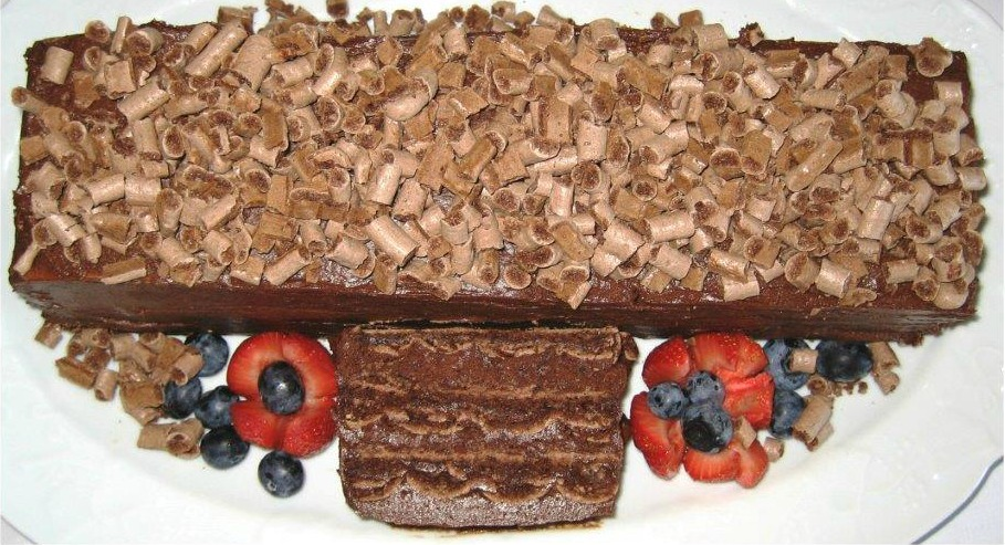 Bon Vivant Flourless Chocolate Hazelnut Cake