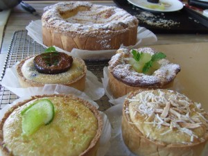 A selection of tarts