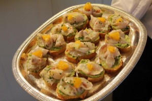 A ceviche made with South Australlian kingfish